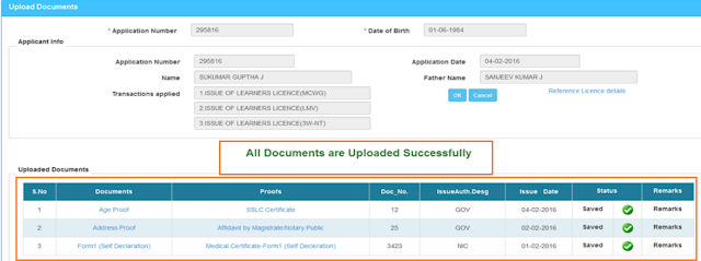 Change Name in Driving License Online
