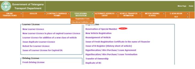 Telangana TS Leaners License