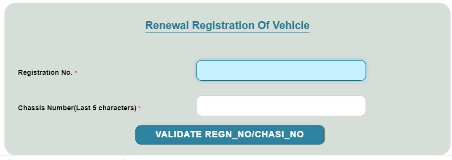 renewal of rc